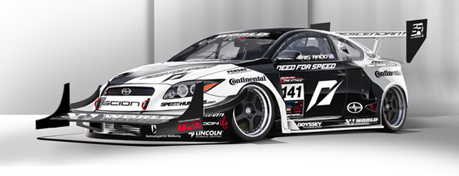 Team NFS World Racing AWD Scion tC 01