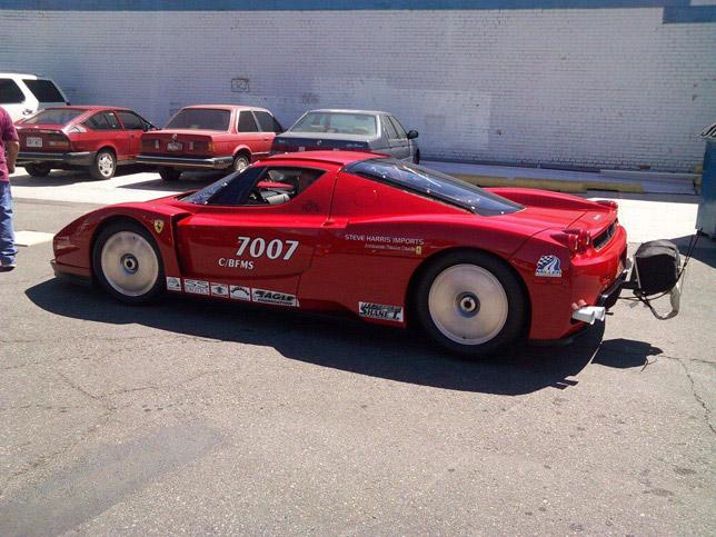 Twin-turbo Ferrari Enzo