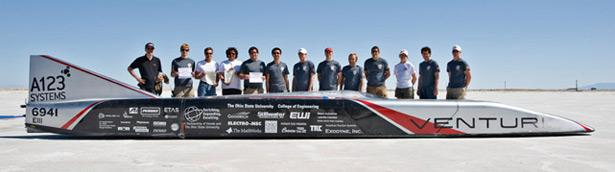 Venturi Jamais Contente topped 515 km/h - a new world record