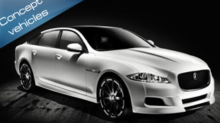 Jaguar revealed XJ75 Platinum Concept
