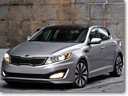 2011 Kia Optima Sedan US sales start