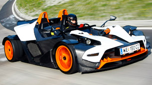 2011 ktm x-bow r - 300ps and 790kg