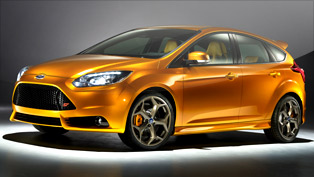 2012 Ford Focus ST officially comes to Paris Motor Show