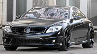 Highly-customized CL65 AMG Black Edition by ANDERSON GERMANY