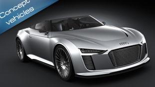 Audi e-tron Spyder at Paris 2010