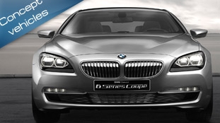 BMW Concept 6 Series Coupe revealed ahead of Paris 2010