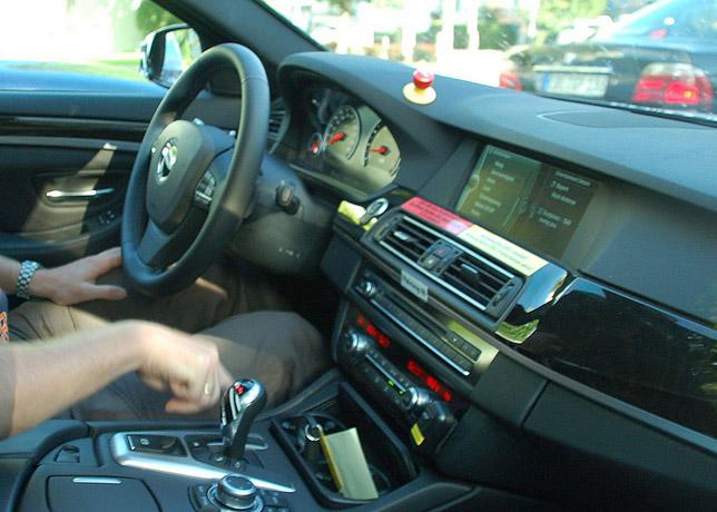 BMW F10 M5 interior