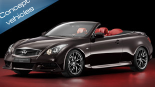 Infiniti to showcase IPL G Convertible Concept at Paris 2010