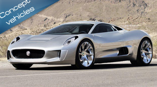 Jaguar C-X75 Concept unveiled at the Paris Motor Show
