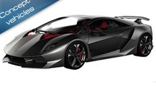 Lamborghini Sixth Element Concept at the Paris Motor Show