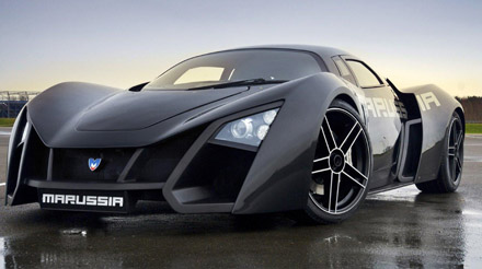 marussia - a great car coming from ... russia
