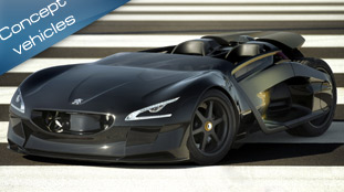 Peugeot uveils the ultra-fast EX1 concept