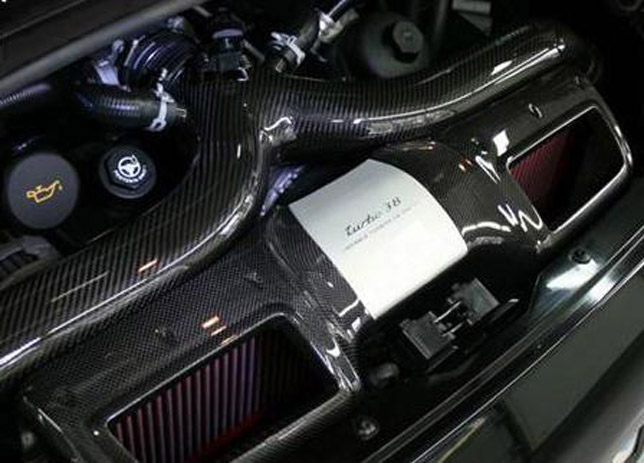 Porsche 911 Turbo RM580  engine