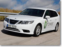 Saab 9-3 ePower is the company's first EV