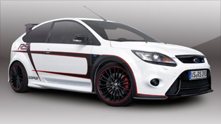 stoffler ford focus rs - 365 horsepower and 525 nm of torque