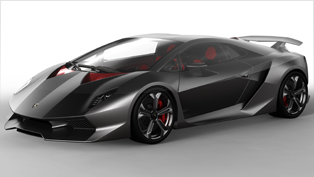 Lamborghini Sesto Elemento officially premiered at Paris 2010
