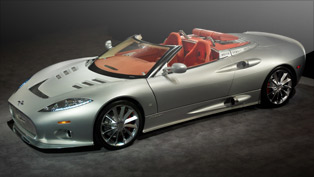 spyker will premiere its c8 aileron spyder at the mph motor show