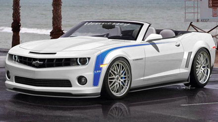 2011 hennessey hpe700 camaro convertible - 765hp and 1033nm