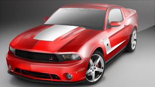 2011 ROUSH 5XR Mustang - 525 horsepower and 465 lb-ft torque
