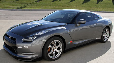 nissan gt-r alpha 10 by ams performance - 1/4 mile in 9.33s - 153mph