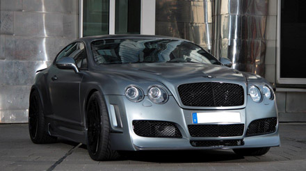 bentley gt supersports edition pimped by anderson germany