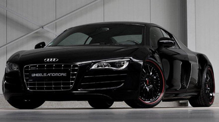 audi r8 v10 refined by wheelsandmore