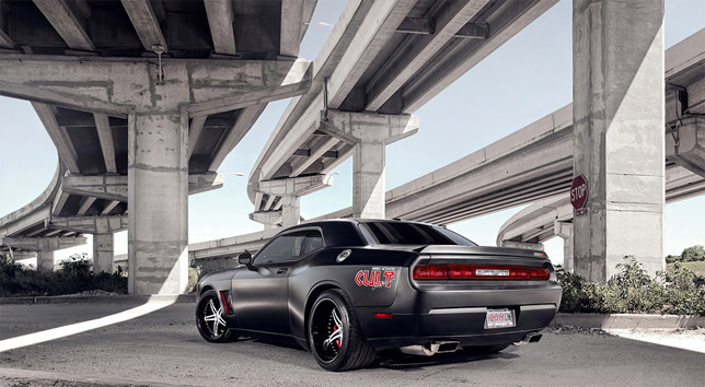 CULT SRT8 Rear Angle