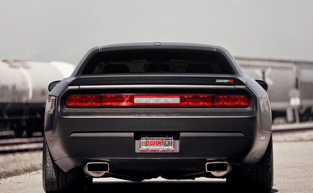 Black Dodge Challenger >> CULT Dodge Challenger SRT8 headed to SEMA 2010