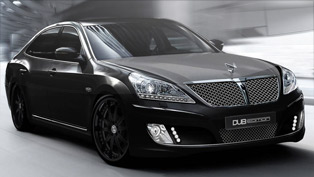 DUB Magazine shows its custom Hyundai Equus ahead of SEMA
