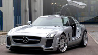 fab-design showcases exclusively bold sls amg