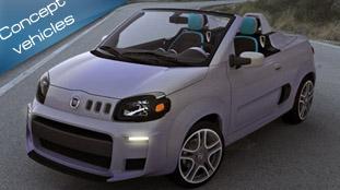 fiat uno cabrio concept