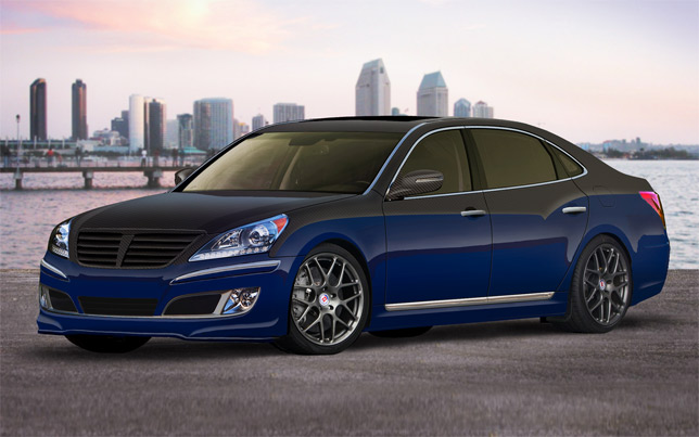 Hyundai Equus Rmr Signature Edition To Debut At Sema 2010