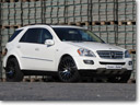 Senner Tuning presents its winter ML 500 4Matic