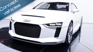 Audi Quattro Concept have been presented at the Paris Motor Show