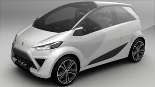 Lotus City Car Concept - small and practical