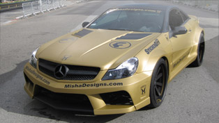 Mercedes-Benz SL Widebody kit by Misha