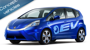 2010 Honda Fit EV Concept - a production model comes in 2012