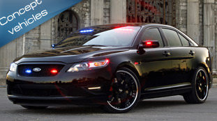 Ford Stealth Police Interceptor concept -