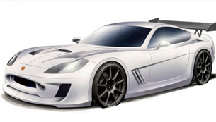 Ginetta G55 - first renderings