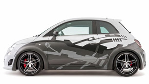 H&R Hamann Fiat 500 Abarth - a 275PS complete madness