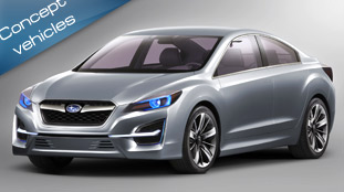 impreza concept - the bright design star of subaru