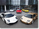 Parade of Lamborghini V12 models [video]