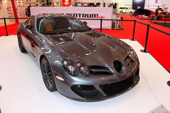 Rongsokan Sangar Mercedes Benz Slr Mclaren Edition Video