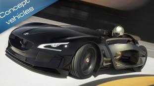Peugeot EX1 Concept - 1/4 mile in 12.6s