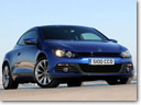 Volkswagen Scirocco and Passat CC BlueMotion models in UK
