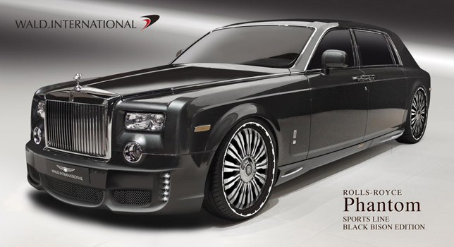 Tuned In Tokyo >> Rolls Royce Phantom pimped by Wald International