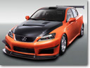 Lexus IS-F sports concepts at Tokyo Saloon