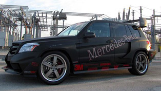 RENNtech Mercedes GLK350 Hybrid Pikes Peak Rally Car [video]