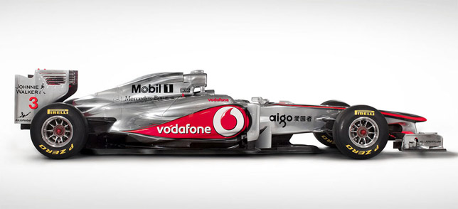 2011 McLaren F1 Race Car