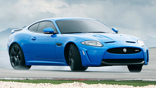 Jaguar XKR-S UK debut